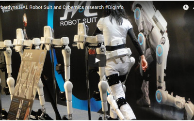 Cyberdyne HAL Robot Suit and Cybernics research